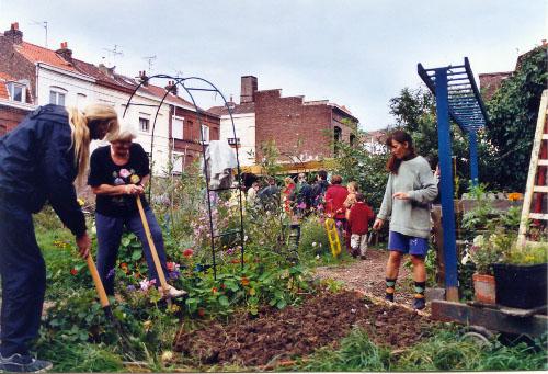 Les jardins communautaires lillois et hellemmois