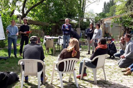 Cursus de formation à la permaculture de l'Air des Pichoulis